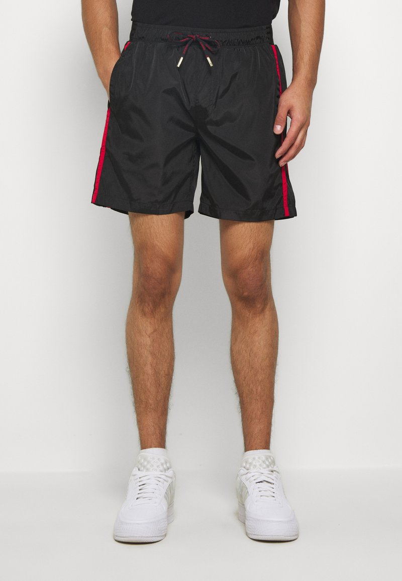 Glorious Gangsta - HARLAN SWIMSHORTS - Shorts - black
