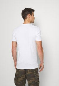 Pier One - 7 PACK - T-shirt - bas - white - 3