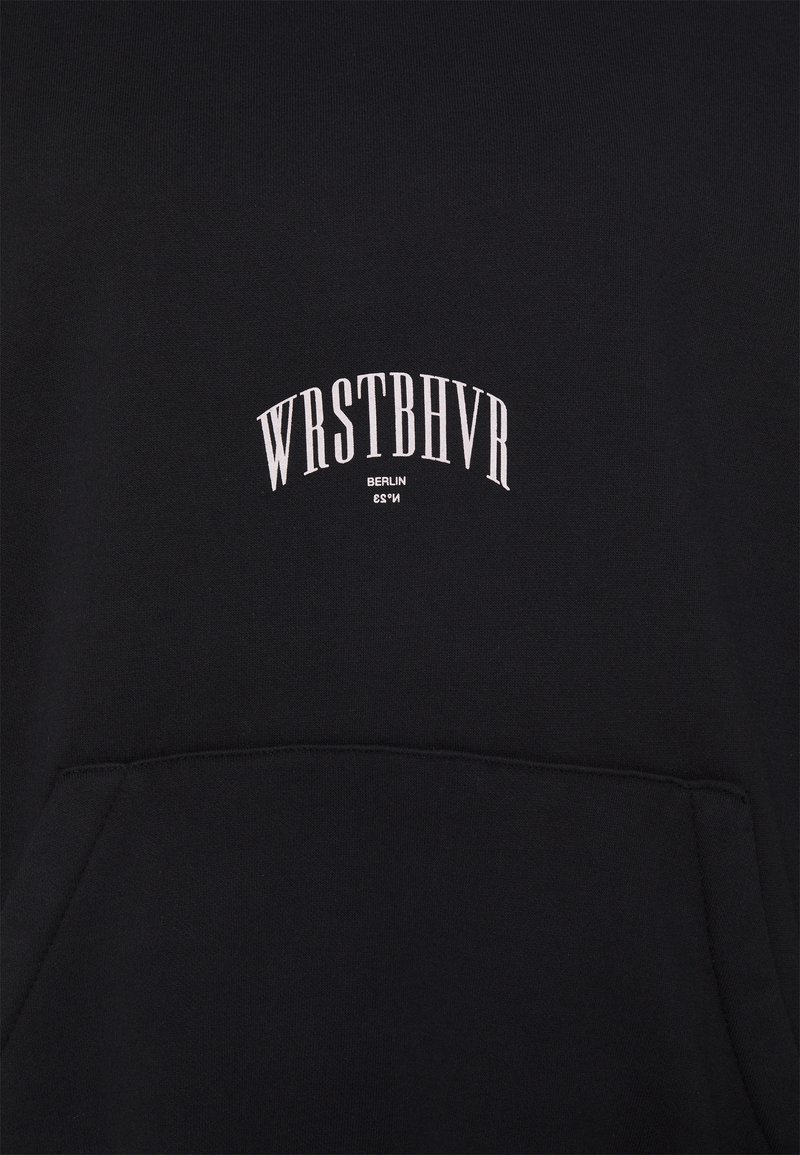 WRSTBHVR - EDEN HOODIE - Hoodie - black washed