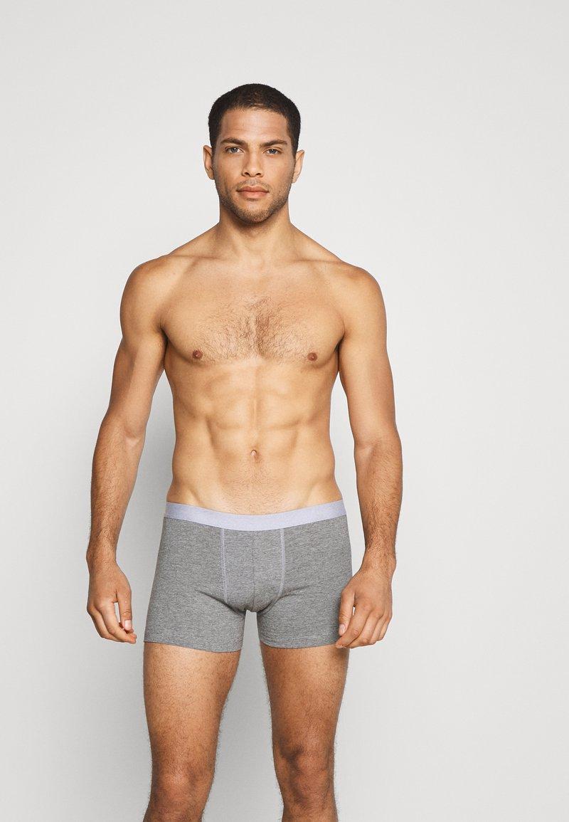 Pier One - 5 PACK - Underkläder - black/mottled grey