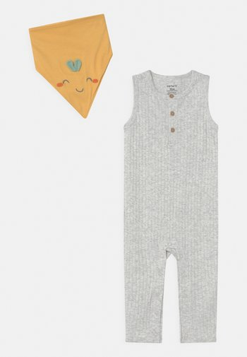 OVERALL SET UNISEX - Overal - gray