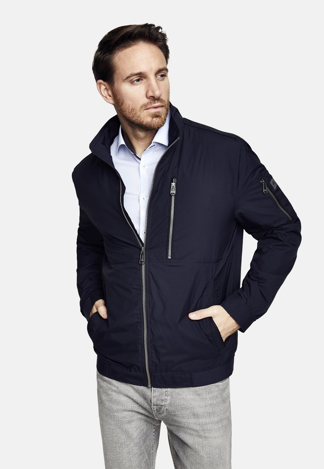 PACKABLE - Bomber Jacket - navy