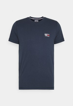 CHEST LOGO TEE - Print T-shirt - twilight navy
