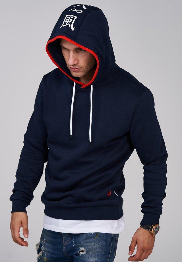 INFINITY - Hoodie - navy blazer