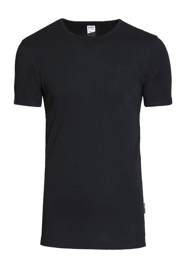 BASE-B - T-shirt basic - black