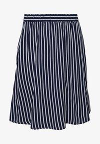 VIPRIMERA - Áčková sukně - navy blazer/snow white stribe