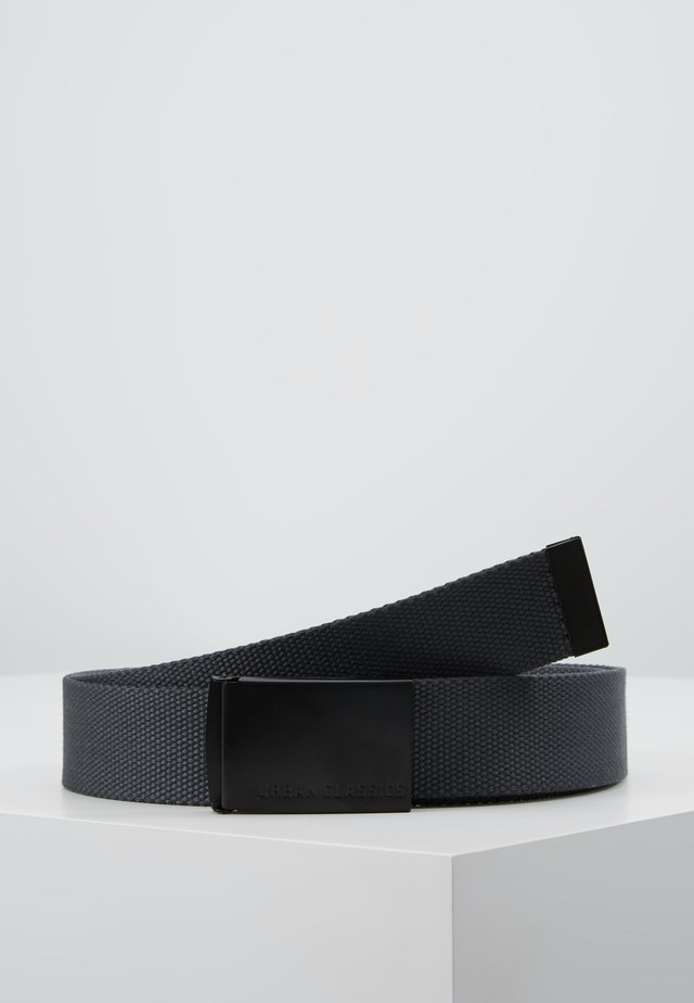 BELTS - Pasek - charcoal/black
