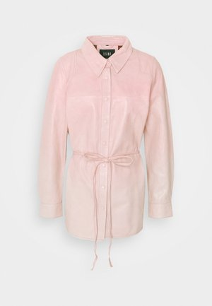 TEDDY  - Button-down blouse - pink nude