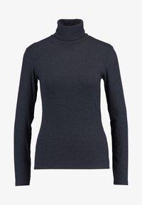 JDY - JDYCA MINI ROLLNECK  - Long sleeved top - dark grey melange - 3