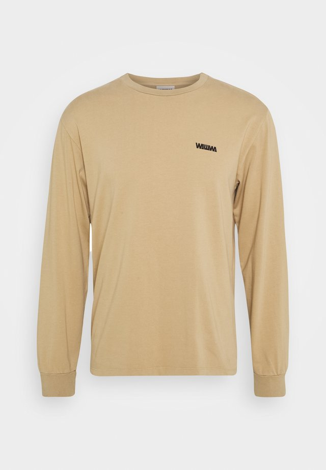 ROAM UNISEX - T-shirt à manches longues - beige