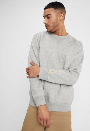 CHASE - Sweatshirt - grey heather/gold