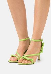 MSGM - HEEL - Sandales - green - 0