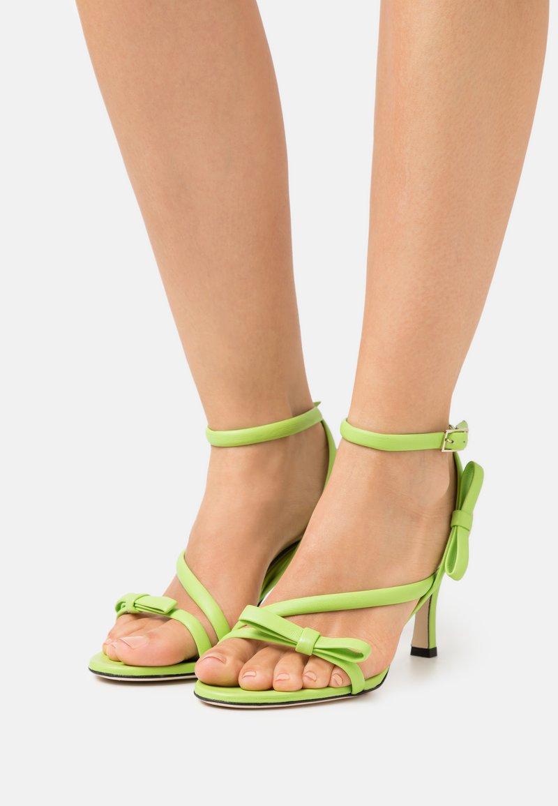 MSGM - HEEL - Sandales - green