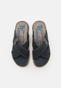 TOM TAILOR - Mules - blue - 3