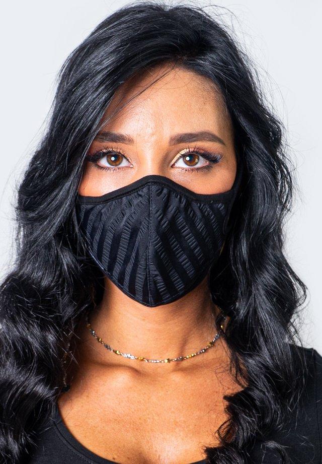 MILANO - Maschera in tessuto - black