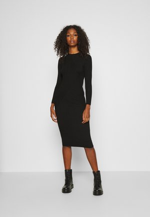 JDYKATE DRESS - Strikket kjole - black