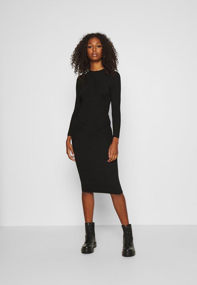 JDYKATE DRESS - Stickad klänning - black