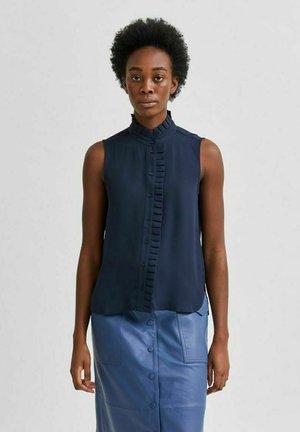 SLFDORIS - Button-down blouse - dark sapphire