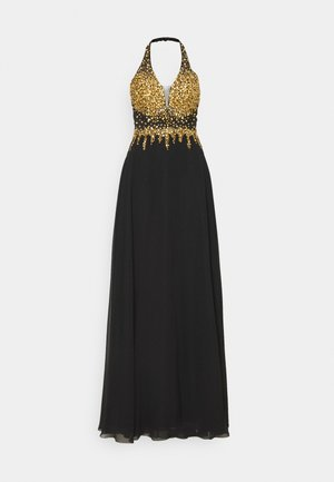 Occasion wear - gold/schwarz