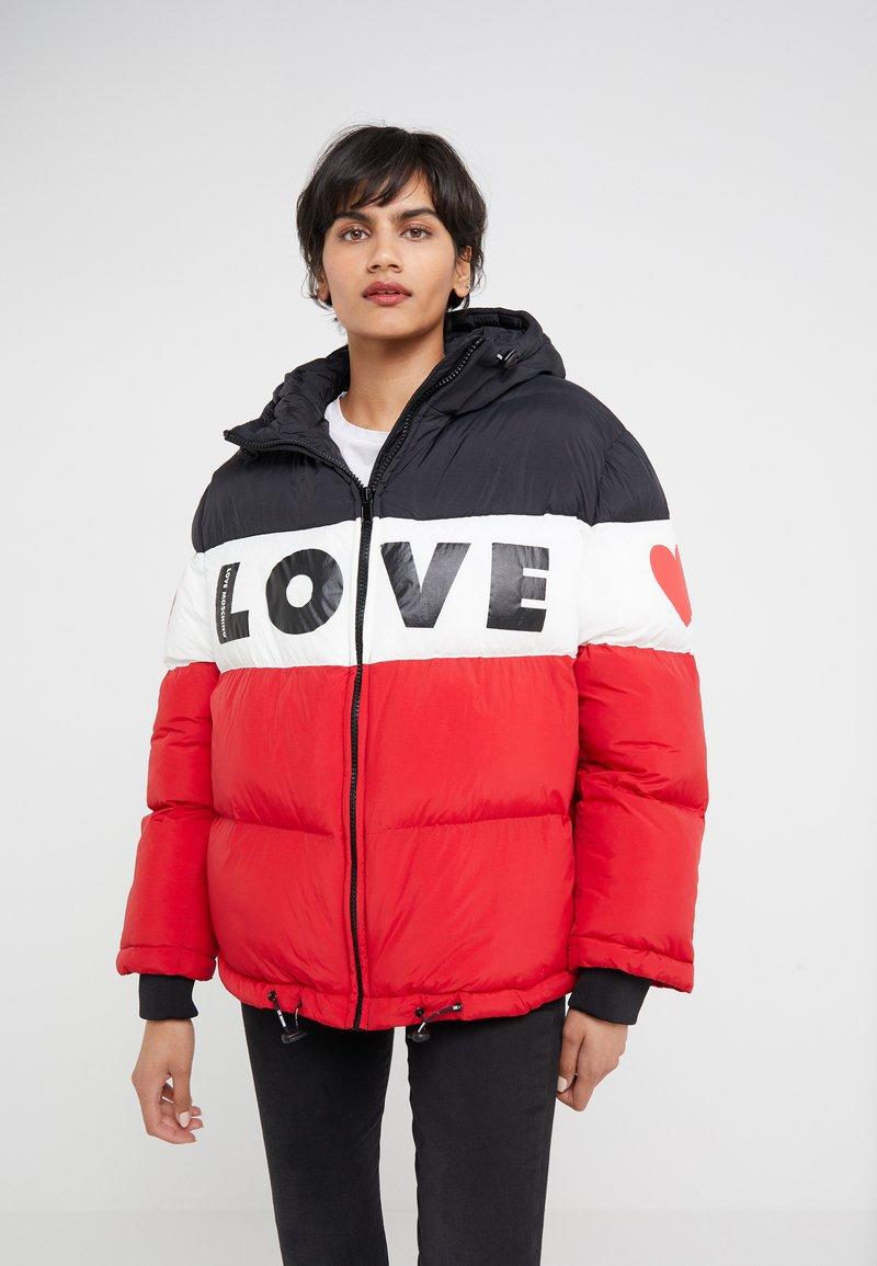 Love Moschino - Zimní bunda - red