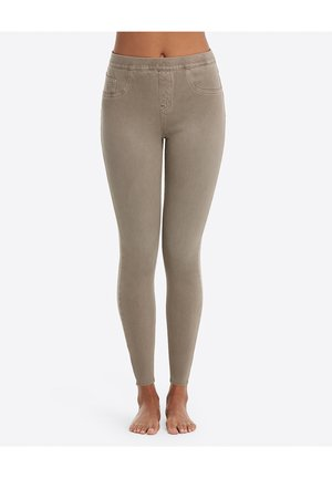 ANKLE - Leggings - Stockings - earthy taupe