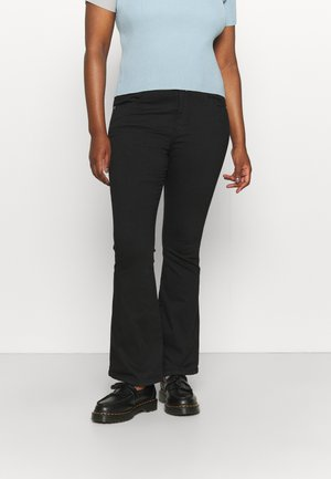 LEXY - Bootcut jeans - black