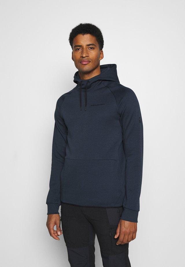 TECH HOOD - Sweatshirt - blue shadow