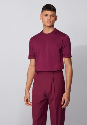 IMATTEO - Basic T-shirt - purple