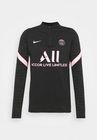 Nike Performance - PARIS ST. GERMAIN  - Long sleeved top - black/arctic punch - 3