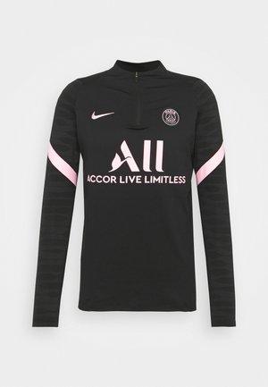 PARIS ST. GERMAIN  - Bluzka z długim rękawem - black/arctic punch