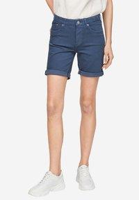 s.Oliver - Short en jean - faded blue - 6