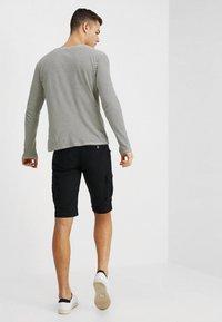 Schott - BATTLE - Shorts - black - 2