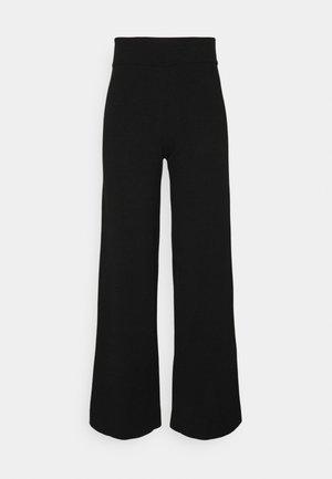 LOUNGE PANT - Broek - black