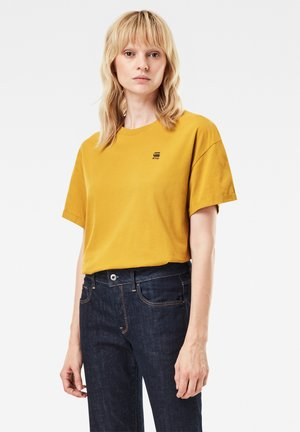 CARRNI LOOSE - Print T-shirt - green sulphur