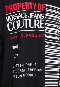 Versace Jeans Couture - INTERLOCK - T-shirt imprimé - nero - 5