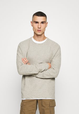 ONSWICTOR STRUCTURE CREW NECK - Jumper - cloud dancer
