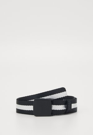 CENTRE STRIPE BELT - Skärp - black