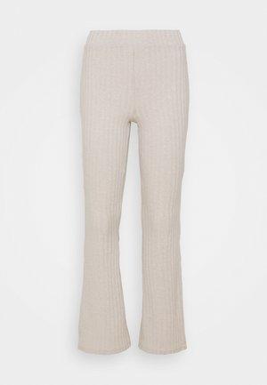 TARA TROUSERS - Bukse - beige
