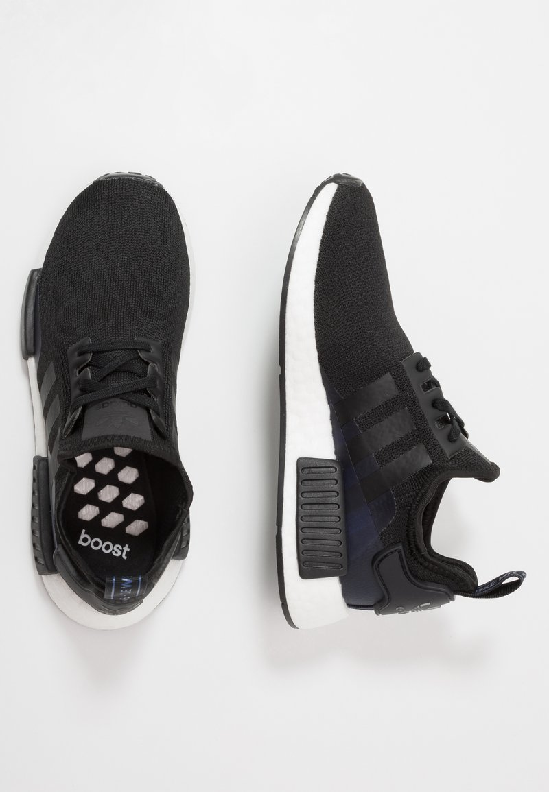 adidas Originals - NMD_R1 - Sneakersy niskie - core black/royal blue