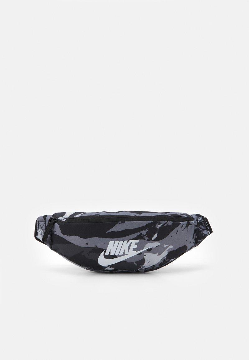 Nike Sportswear - HERITAGE UNISEX - Bum bag - black/white