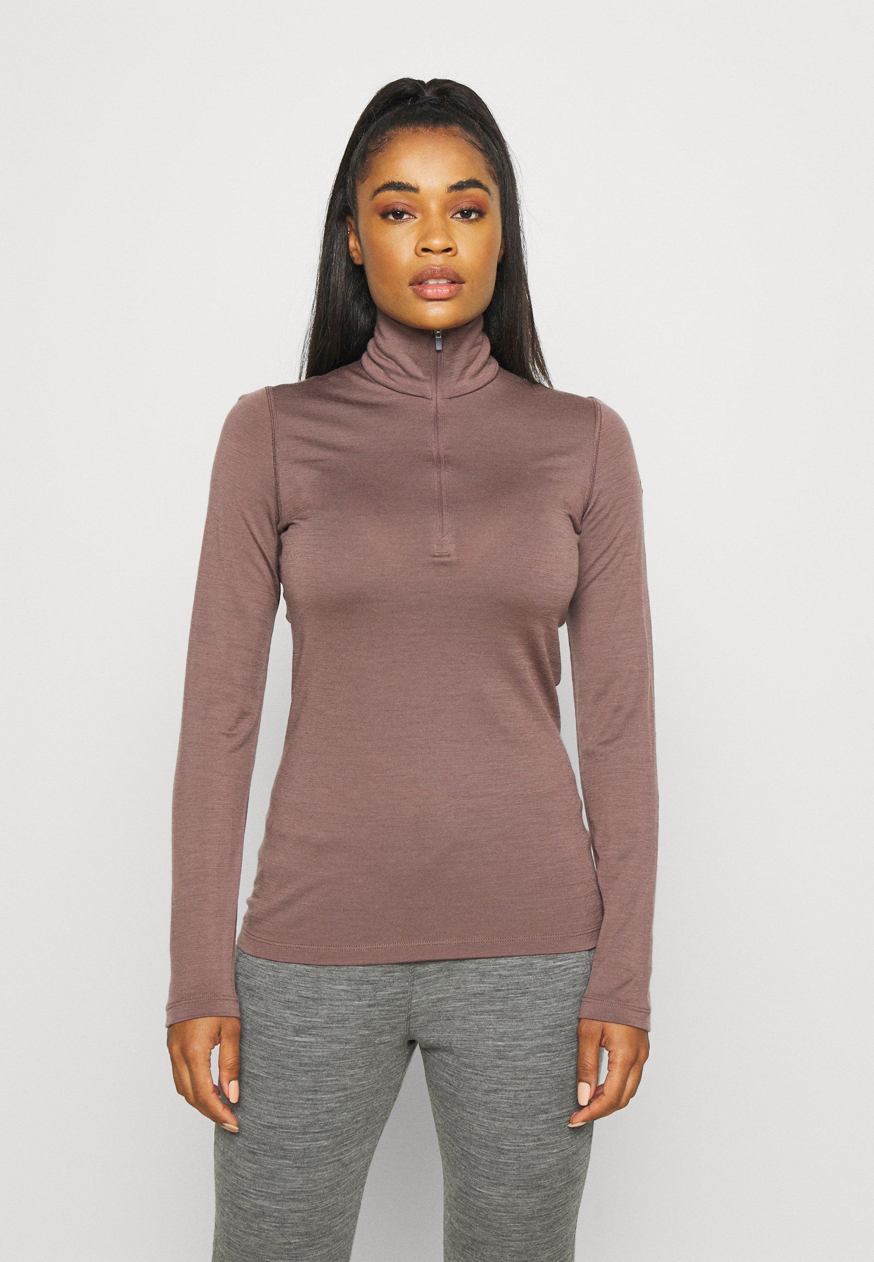 Women HALF ZIP - Long sleeved top