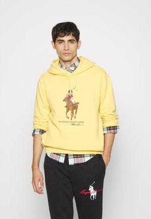 HOOD LONG SLEEVE - Sweatshirt - campus yellow