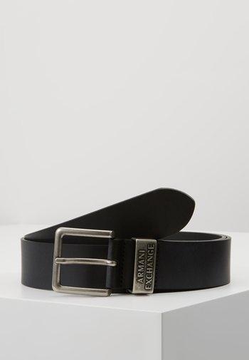 Belt - nero black