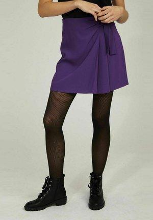 Wrap skirt - purple