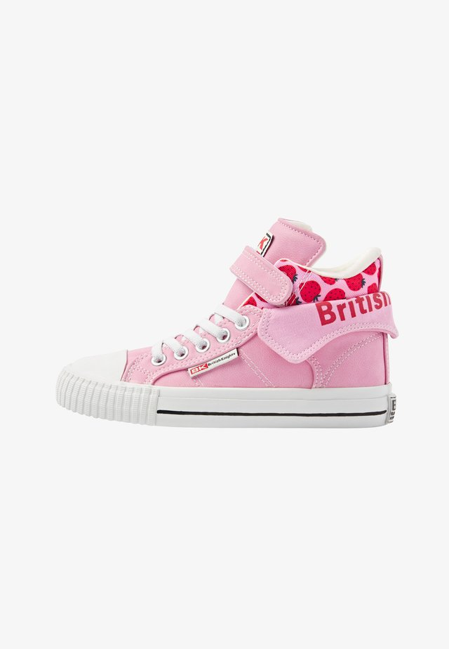 ROCO - Sneakers alte - pink/strawberry