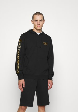 Collegepaita - black/gold-coloured