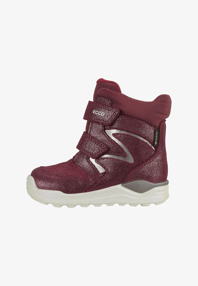 Lace-up ankle boots - syrah