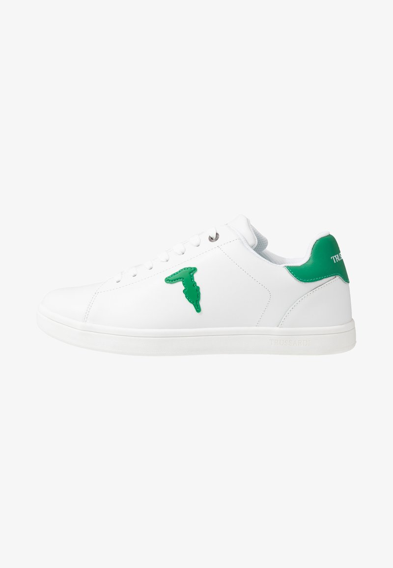 Trussardi Jeans - Trainers - white/green