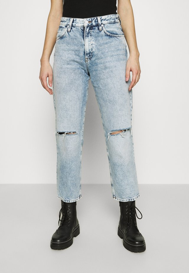 BERLIN - Straight leg jeans - ripped icon street