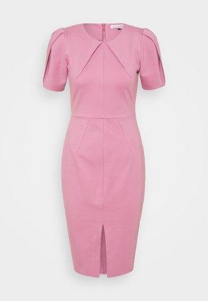 PLEATED SLEEVE DRESS - Jersey dress - light pink
